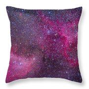 The Heart And Soul Nebulae Throw Pillow