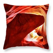 The Heart And The Dog Throw Pillow