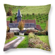 The Heart Of Normandy Throw Pillow