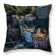 The Heart Of Sorrento Throw Pillow