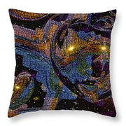 The Heart Of The Emissary Throw Pillow
