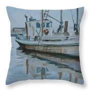 The Helen Mccoll At Rest Throw Pillow