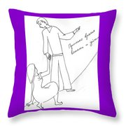 The Help. Throw Pillow