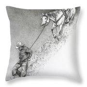 The Herdsman Throw Pillow