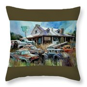 The Hideaway Of Miss Dish Kreshin Throw Pillow