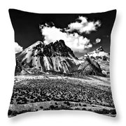 The High Andes Monochrome Throw Pillow