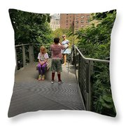 The High Line 164 Throw Pillow