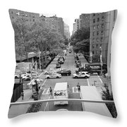 The High Line 166 Throw Pillow