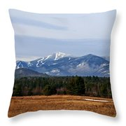 The High Peaks Throw Pillow