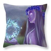 The High Priestess Throw Pillow