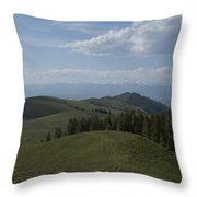 The High Road 2 Throw Pillow