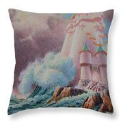 The High Tower Throw Pillow