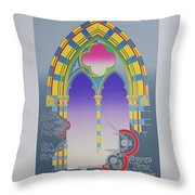 The High Window Throw Pillow