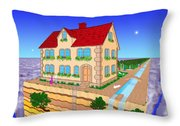 The Highland Realm Throw Pillow