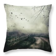 The Highlands Throw Pillow