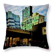 The Highline Nyc Throw Pillow
