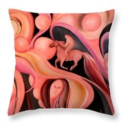 The Highway Throw Pillow