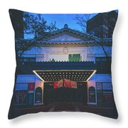 The Hilbert Circle Theatre Of Indianapolis Throw Pillow