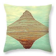 The Hill In The Middle Of Nowhere Throw Pillow