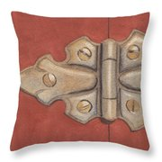 The Hinge Throw Pillow