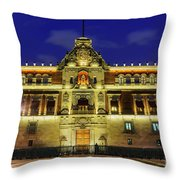 The Historical National Palace Throw Pillow