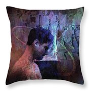 The History Student Throw Pillow