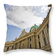The Hofberg In Vienna Throw Pillow