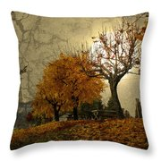 The Holder Of Light Throw Pillow