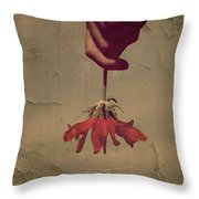 The Holding Throw Pillow