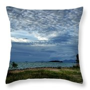 The Hole In The Sky Throw Pillow