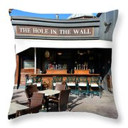The Hole In The Wall Throw Pillow