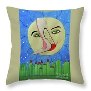 The Holography Throw Pillow