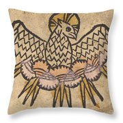 The Holy Ghost Throw Pillow