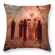 The Holy Ghost With His Companions Throw Pillow