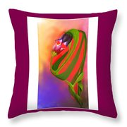 The Holy Gift Of Life Throw Pillow