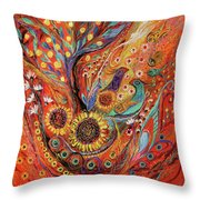 The Holy Land Autumn Throw Pillow