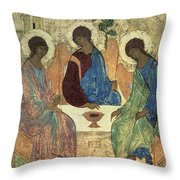The Holy Trinity Throw Pillow
