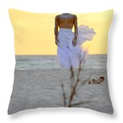 The Homesickness Throw Pillow