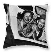 The Honeymooners, C1955 Throw Pillow by Granger