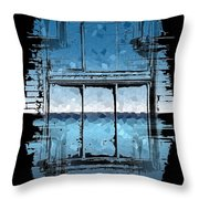 The Horizon Beyond Throw Pillow