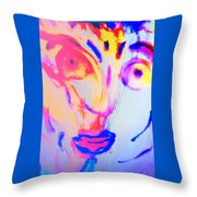 The Horse Is In Me And In You  Throw Pillow