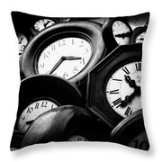 The Hours Throw Pillow