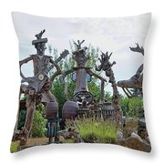 The House Band, Brittany, France Throw Pillow