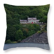 The House By The Llyn Peris Throw Pillow