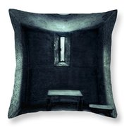 The House Of A Locked Mind Throw Pillow
