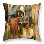 The House Of Desdemona Throw Pillow