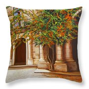The House Of The Marquis Of Clear Water Throw Pillow