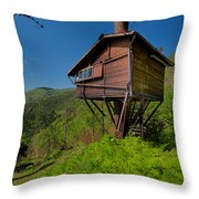 The House On The Tree - La Casa Sull'albero Throw Pillow