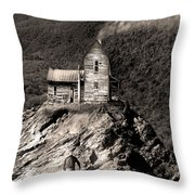 The House Time Forgot Throw Pillow
