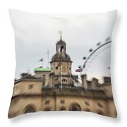 The Household Cavalry Museum London Abstract 2 Throw Pillow